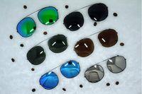Nuevo estilo cliptosh lentes de sol lentes Flip Up lentes polarizadas clips con clip lentes miopía lentes de 6 colores para Lemtosh