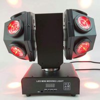 Mini Double Arms Led Moving Head Laser Light 12x10W 4in1 RGBW DMX 512 Control
