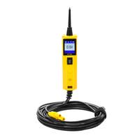 AUTOOL BT260 자동차 전기 회로 시험기 전력 프로브 전압 시험 전기 시스템 진단 스캔 도구 다국어