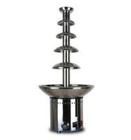 Gute Qualität mit CER 5 Reihen Schokoladen-Brunnen-Maschine für kommerziellen Gebrauch NEU