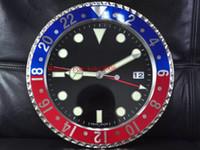 8 가지 색상 우수한 고품질 벽시계 116719 116610 116710 가족 34cm x 5cm 3kg 쿼츠 전자 블루 발광 홈 장식