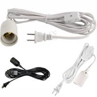 Длинный фонарь Подвесной светильник Шнур лампы Кабель-удлинитель на 12 футов с включением / выключением или переключателем передач для цоколей E26