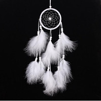 Wind Chimes Handmade Indian Dream Catcher Net With Feathers ...