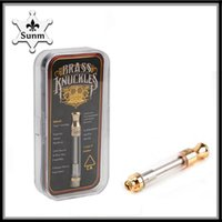 Brass Knuckles a variety of flavor Dual Cotton Coil Cartridg...