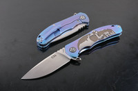 Newer recommended CH3504 skull blue titanium handle S35VN ca...