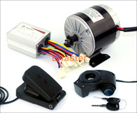 24V36V 350W سكوتر الكهربائية موتور Unitemotor MY1016 استخدام محرك سلسلة 25H مع دواسة القدم خنق الكهربائية الذهاب الكارتينغ كيت بسيطة