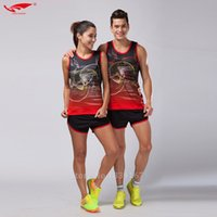 Wholesale- Men Sport Suits Marathon Clothes Vest+ Shorts 2 pie...