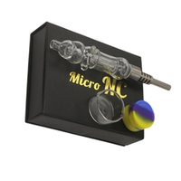 New Micro NC Kit comb glass water pipe With 510 Quartz Tip T...