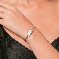 Braccialetti di moda per le donne Bracciale in turchese bianco Bracciale in oro rosa Bracciali in lega di colore argento Gioielli regali