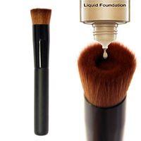 Escova da composição Grande Plano Professional Aperfeiçoamento face escova multiuso líquido Foundation escova premium face premium de alta qualidade