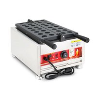 Beijamei Ticari Kaya Top Makinesi Makinesi Elektrikli Top Şekli Waffle Yapma Makineleri
