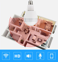 1080P 2MP 2MP واي فاي كاميرا مراقبة بانورامية 360 درجة ضوء المصباح كاميرات الأمن اللاسلكية فيش المنزل الذكي IP CCTV 3D أمن الوطن