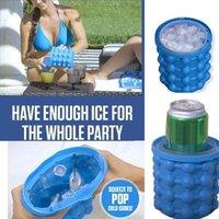 13. 2*14. 1 Silicone Ice Cube Maker Genie Beer Cooler Tools Ki...