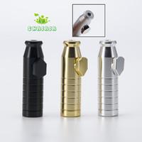 2.3-дюймовые аксессуары для курения пятно пуля с матовым покрытием содержат 3G-трубы алюминиевый спертюр горячий для использования