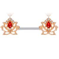 Großhandel Körperschmuck Edelstahl 14g Nippel Ring Mode Piercing Barbell Bar Sexy Helix Tragus Ohrring 20 stücke