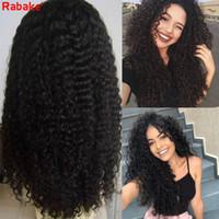 9A Haute Qualité Brésilienne Vierge Cheveux Full Dentelle Avant Perruque Bestilienne Kinky Burly Perruques Coulée Remy Cheveux Human Hair Dentelle Perruques de couleur naturelle