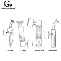 Filtro de vidro do narguilé de vidro para o Henail / Port / 510 A fixação destacável do saco do prego