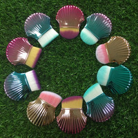 New Arrival Makeup Shell Makeup Brush Shell Shape Brushes Co...