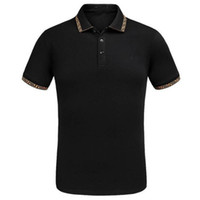 Embroidered head brand polo for men summer fashion poloshirt...