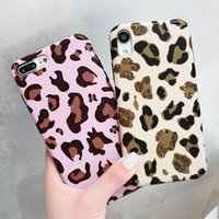 YunRT Mode Leopard Print Phone Cases Für iphone XS Max Fall Für iphone X XR 8 7 6 S 6 Plus Luxus Weiche IMD Abdeckung Retro Capa