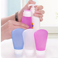 TSA Approved Silicone Travel Size Toiletry Bottles Leak Proo...