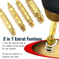 Damaged Screw Extractor and Remover Tool Set 5 Pieces by Sib...