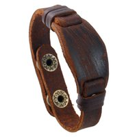 Brown Diamond Skin Decorated with Men' s Genuine Leather...