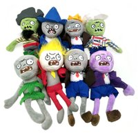 8pcs Plush Toys 20cm PVZ Gargantuar Hats Pirate Duck Zombie ...