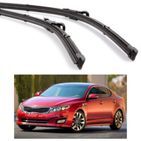 Nuevo 2Pcs Coche frontal parabrisas hoja sin escobillas para KIA Optima Sedan 2011-2015 12 13 14