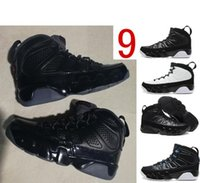 Bred 9s New arrival authentic leather men 9S basketball shoe...