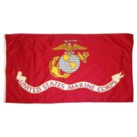 50pcs 3x5fts directos de fábrica 90x150cm los estados unidos de América del ejército de Estados Unidos bandera EE.UU. Cuerpo de Marines USMC