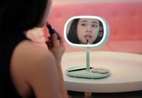Muid Miroir Lampe Vanity Miroir avec Nuit Lumière LED Lampe De Stockage Lumière pour Maquillage Portable Design Livraison Gratuite
