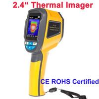 Freeshipping Handheld Camera Thermal Imaging Imager IR THERMAL Podczerwień 2,4 cala kolorowy ekran