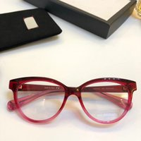새로운 안경 프레임 여성 남성 브랜드 안경 프레임 브랜드 안경 프레임 클리어 렌즈 안경 프레임 Oculos 0373 케이스와 함께