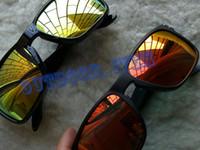 브랜드 선글라스 009102 남성 여성 안경 편광 안경 UV400 스포츠 사이클링 유리 TR90 평방 프레임 크기 총 폭 143 mm 상자