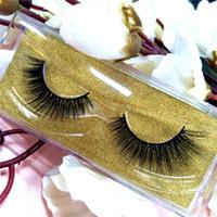 Top 3D Real Pramade Lashes Personalizar Lable Mink Lash Sexy Mink Eyelashes Extension 10 Pares / Lot Envío Gratis P7