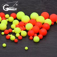Visserij Float Ball 100 stks EPS Foam Ball Opvallende Bonen Vissen Circulaire Float Ball Float Blobular Boei voor vissen