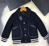 New boys winter jacket 2018 warm handsome outerwear Kids Thi...