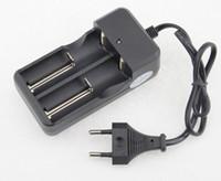 Caricabatterie universale a doppia fila a due file con batteria al litio line 18650 Manometro 26650 Euro 4,2 V LLFA