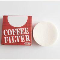 Tek kullanımlık kağıt filtreler örgü 6cm ot süzgeç demlemek kahve fincanı bira yedek kahve damlatıcı kahve k bardak süzgeç yapımcısı çay poşetleri