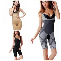 6d57dc0c523 Wholesale-New Women Ladies Bamboo Charcoal Micro-Fibre Shaper Slimming Full Corset  Tummy Trimmer Body Suit Underwear Shapewear