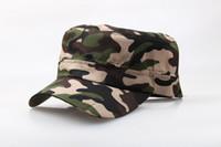 Boné Chapéu Tide Verão Camping Camouflage chapéu militar Hat Training Femininos Atacado Montanhismo