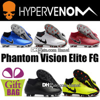2018 Wholesale Top Mens Phantom Vision Elite DF MG FG Footba...