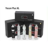 Yocan Evolve 플러스 XL 스타터 키트 왁스 Vape 펜 쿼츠로드 코일 1400mah 배터리 E 담배 기화기 Yocan XL vape kit