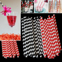Paper Spiral Straws Disposable Bubble Tea Thick Rainbow Drin...