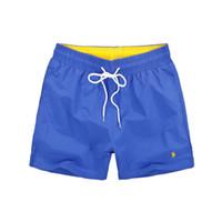 60233df4653db horse lqpolos brand Men's brand Shorts 2018 Summer polo Beach Surf Swim  Sport Swimwear Boardshorts gym Bermuda basketball shorts