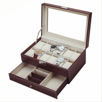 2017 Original Multifunctional Drawer- style PU Watch Box Coll...