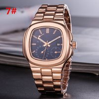 High quality Man Luxury watches Stainless steel Casual wrist...