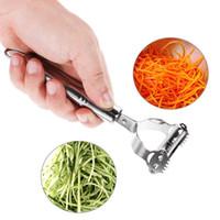 Anpro Descascador de Aço Inoxidável Ralador Multi-função Descascador De Frutas Vegetais Peeling De Frutas Shredder Slicer Grater Acessórios De Cozinha
