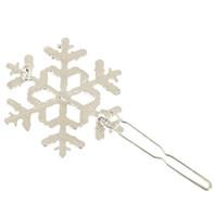 Femmes Filles flocon de neige Barrettes Accessoires cheveux Argent Or flocon de neige Hairclip Hairpin Cuff cheveux Bijoux Clip 12pcs cadeau de Noël
